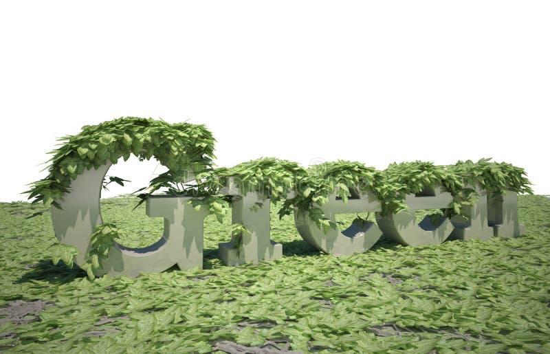 πράσινο θέμα ελεύθερη απεικόνιση δικαιώματος