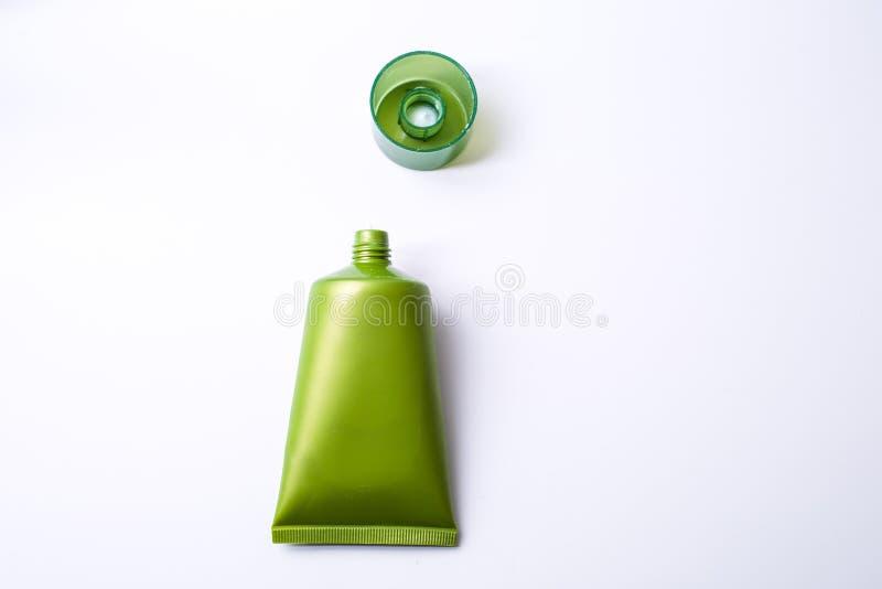 Πράσινο καλλυντικό στοκ φωτογραφίες με δικαίωμα ελεύθερης χρήσης
