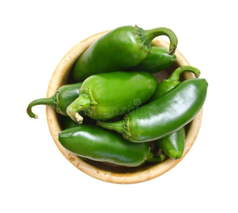 πράσινο καυτό πιπέρι στοκ εικόνα με δικαίωμα ελεύθερης χρήσης