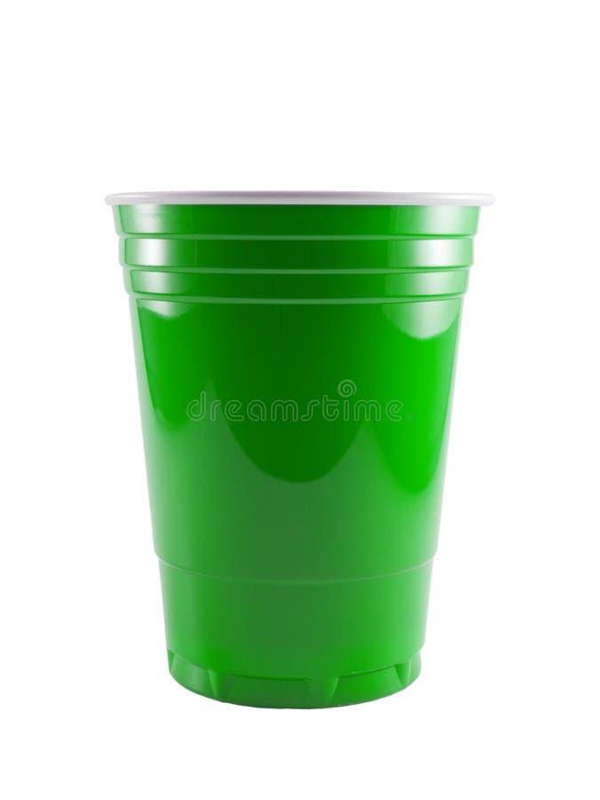 Πράσινο Κόμμα φλυτζανιών στοκ φωτογραφία με δικαίωμα ελεύθερης χρήσης