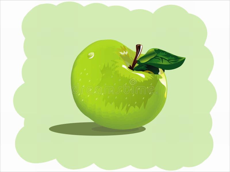 πράσινο μήλου απεικόνιση αποθεμάτων