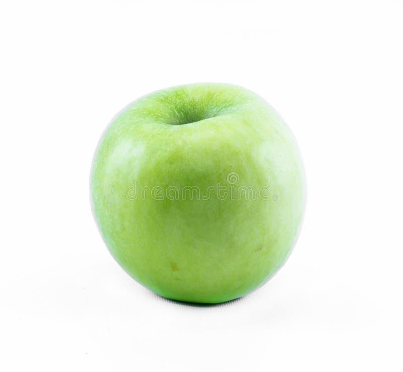 Download Πράσινο μήλο σε ένα άσπρο υπόβαθρο - μπροστινή άποψη Στοκ Εικόνες - εικόνα από καλός, ανασκόπησης: 62700848