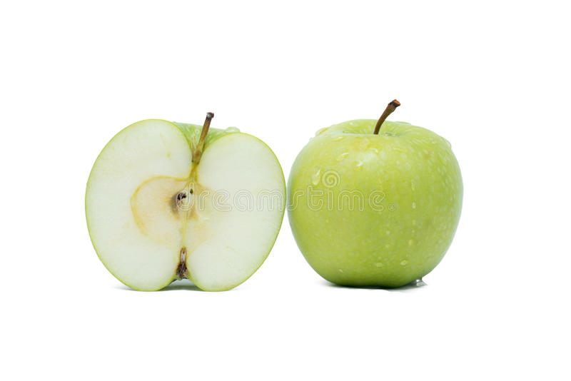 Πράσινο μήλο στοκ εικόνα με δικαίωμα ελεύθερης χρήσης