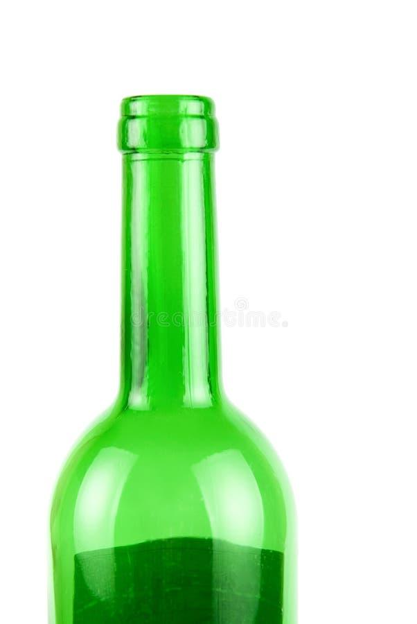 Πράσινο μπουκάλι κρασιού στοκ φωτογραφίες με δικαίωμα ελεύθερης χρήσης