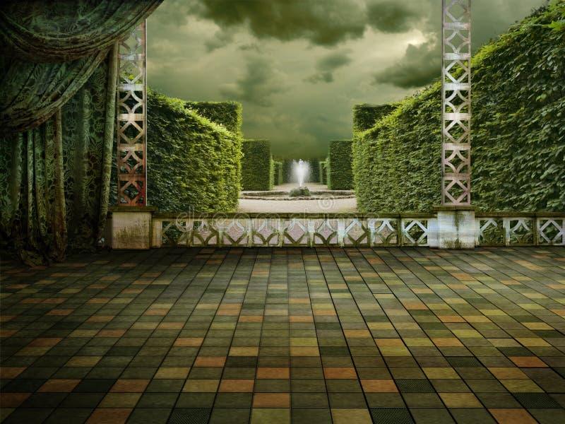 πράσινο πεζούλι
