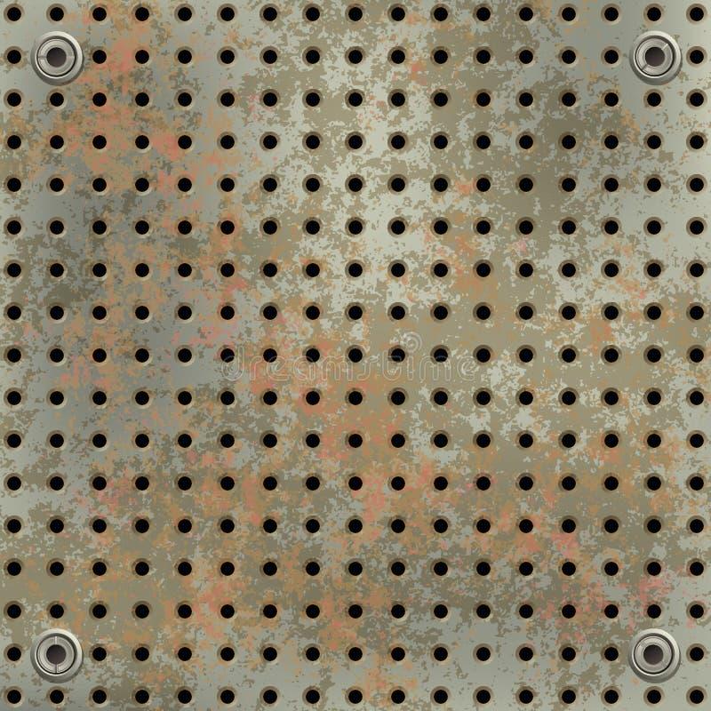 πράσινο πλέγμα metall σκουρια&sig απεικόνιση αποθεμάτων