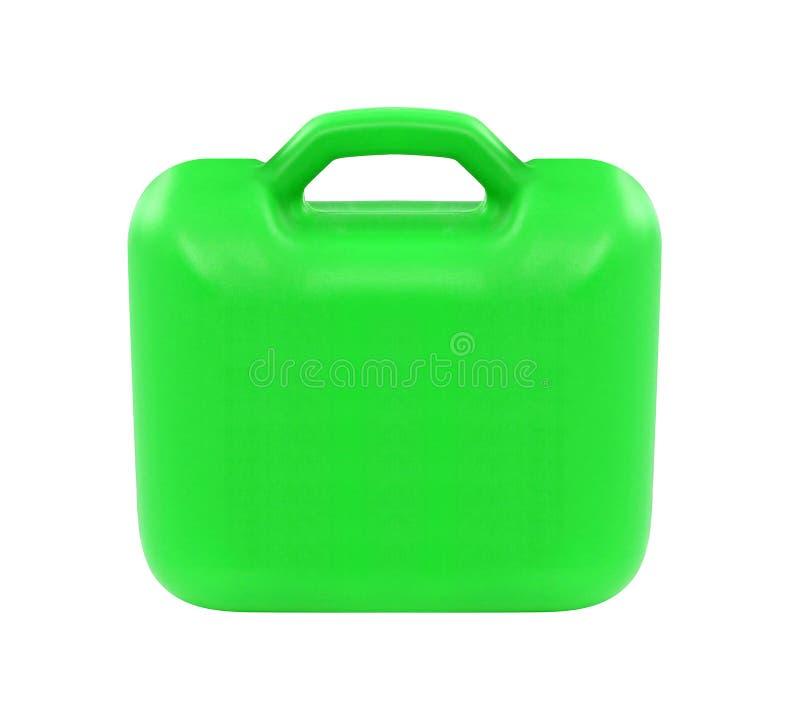 Πράσινο πλαστικό κιβώτιο στοκ φωτογραφίες