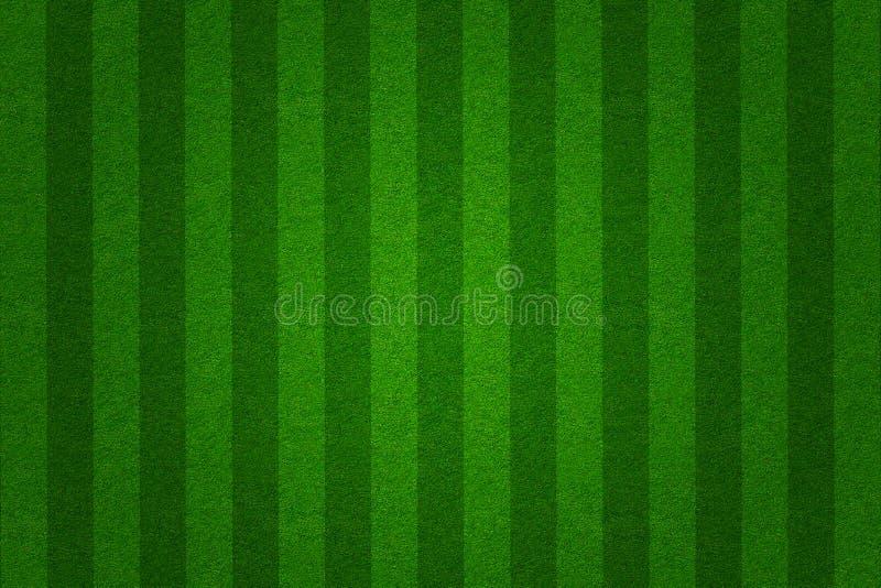 πράσινο ποδόσφαιρο χλόης π διανυσματική απεικόνιση