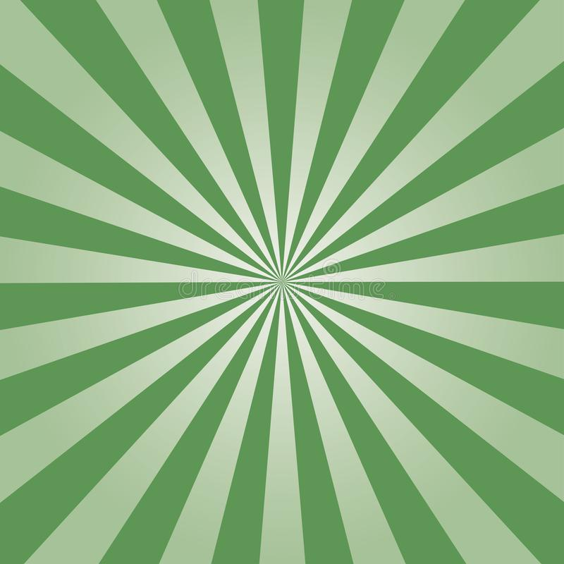Πράσινο σχέδιο ηλιοφάνειας επίσης corel σύρετε το διάνυσμα απεικόνισης ελεύθερη απεικόνιση δικαιώματος