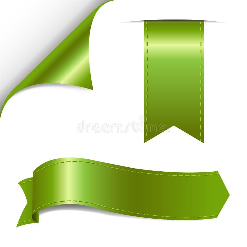 Download Πράσινο σύνολο διανυσματική απεικόνιση. εικονογραφία από σκιά - 22792474