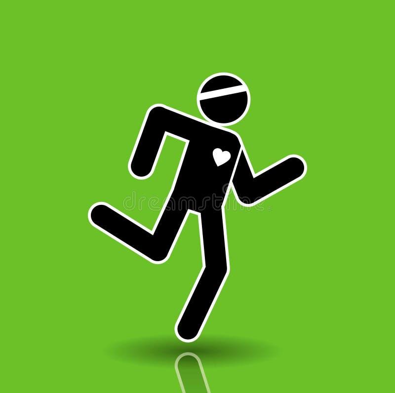 πράσινο τρέξιμο στοκ φωτογραφία με δικαίωμα ελεύθερης χρήσης