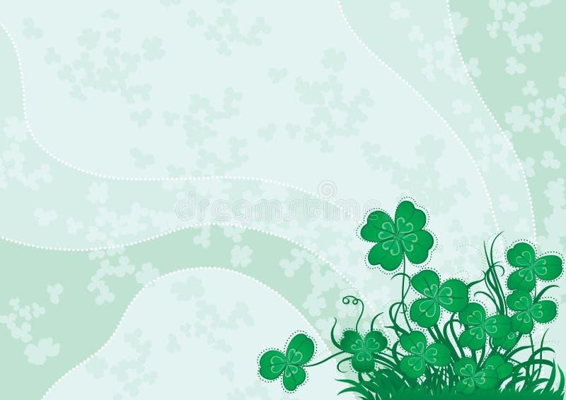 Πράσινο τριφύλλι απεικόνιση αποθεμάτων