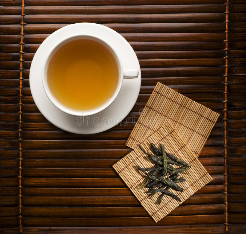 πράσινο τσάι στοκ φωτογραφία με δικαίωμα ελεύθερης χρήσης