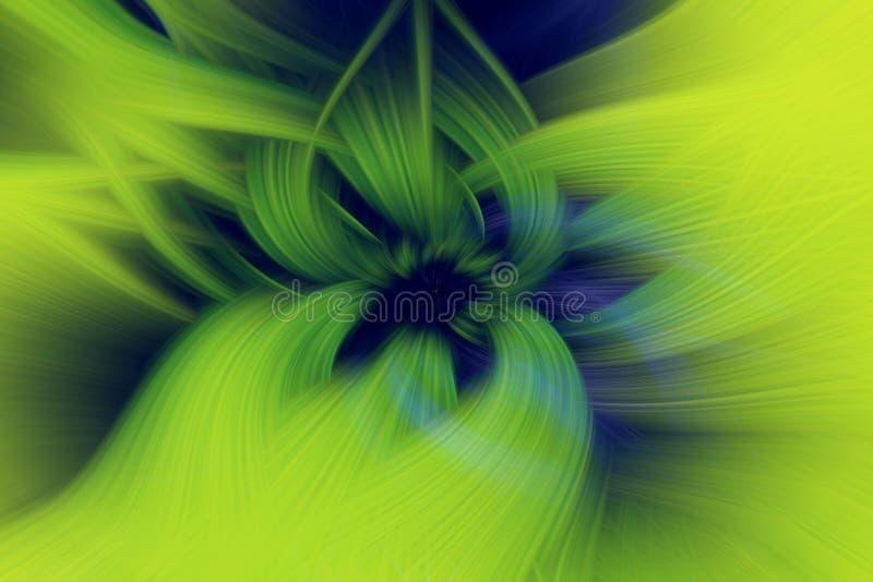 Πράσινο υπόβαθρο απεικόνισης λουλουδιών φύλλων καυτός απεικόνιση αποθεμάτων