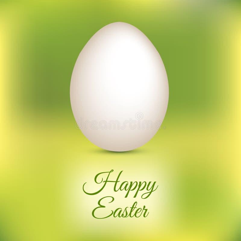 Πράσινο υπόβαθρο αυγών Πάσχας διανυσματικό απεικόνιση αποθεμάτων