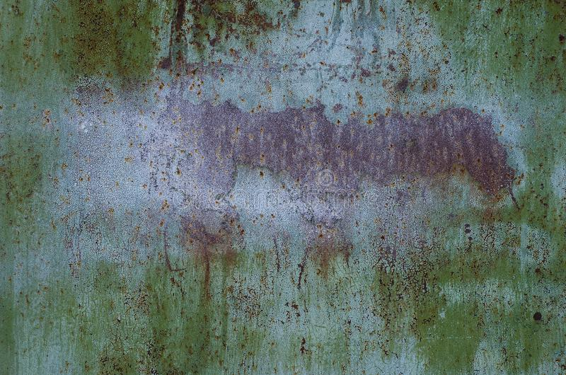 Πράσινο υπόβαθρο μετάλλων σύστασης watercolor, χέρι που χρωματίζεται στοκ φωτογραφίες με δικαίωμα ελεύθερης χρήσης