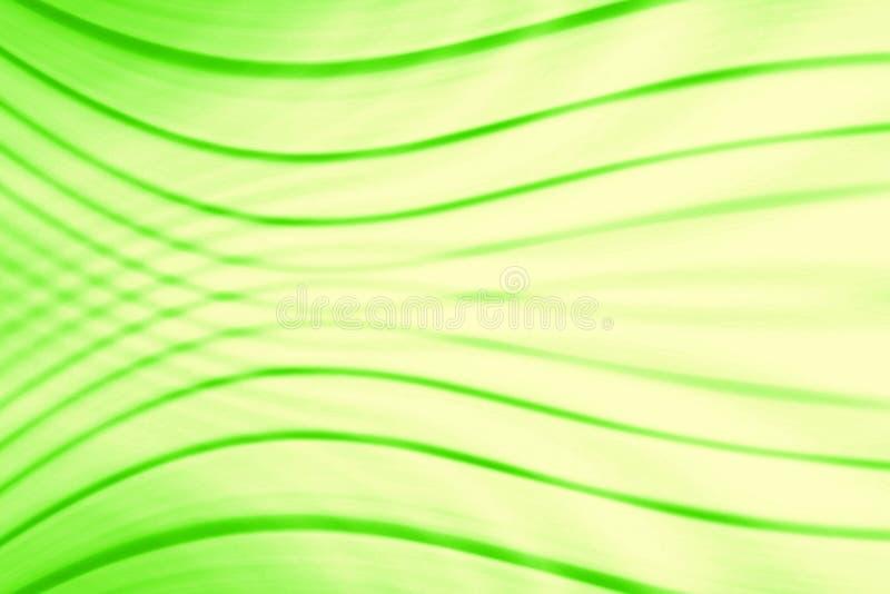 Πράσινο υπόβαθρο με τη γραμμή γεωμετρίας ελεύθερη απεικόνιση δικαιώματος