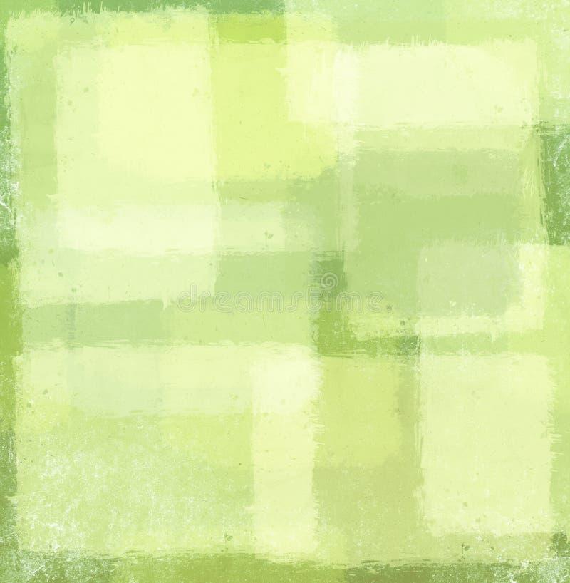 Πράσινο υπόβαθρο μπαλωμάτων διανυσματική απεικόνιση