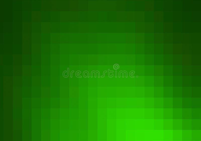 Πράσινο υπόβαθρο μωσαϊκών. διανυσματική απεικόνιση
