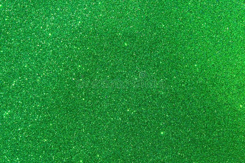 Πράσινο υπόβαθρο glittery στοκ φωτογραφία με δικαίωμα ελεύθερης χρήσης