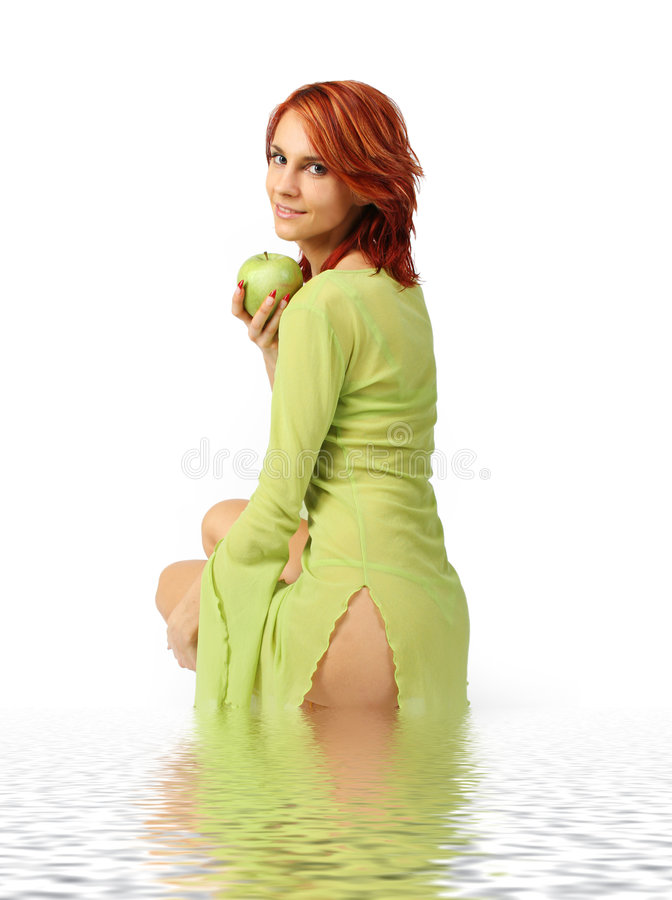 πράσινο ύδωρ στοκ φωτογραφία με δικαίωμα ελεύθερης χρήσης