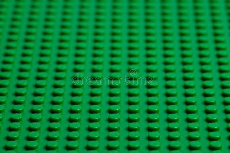 Πράσινο baseplate Lego στοκ φωτογραφία με δικαίωμα ελεύθερης χρήσης