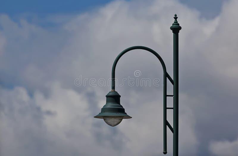 Πράσινο Lamppost στοκ φωτογραφία με δικαίωμα ελεύθερης χρήσης
