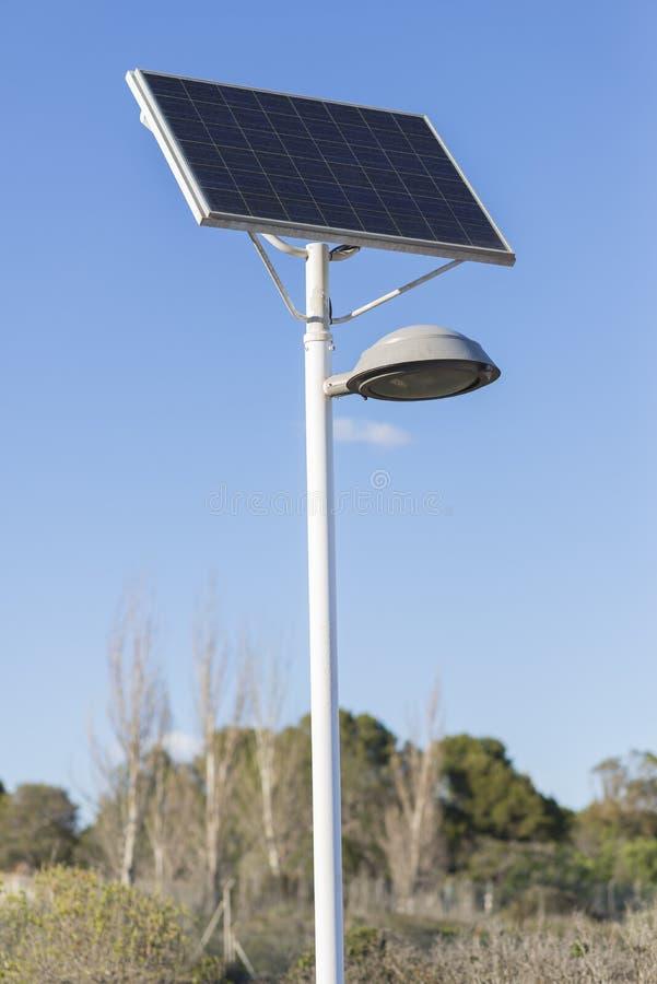 Πράσινο Lamppost στοκ φωτογραφίες