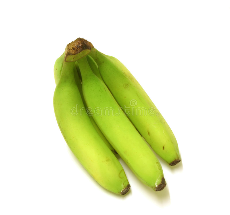 πράσινο Plantain μπανανών Στοκ φωτογραφία με δικαίωμα ελεύθερης χρήσης