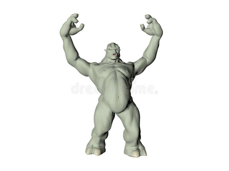 Download πράσινο troll απεικόνιση αποθεμάτων. εικονογραφία από babe - 394596