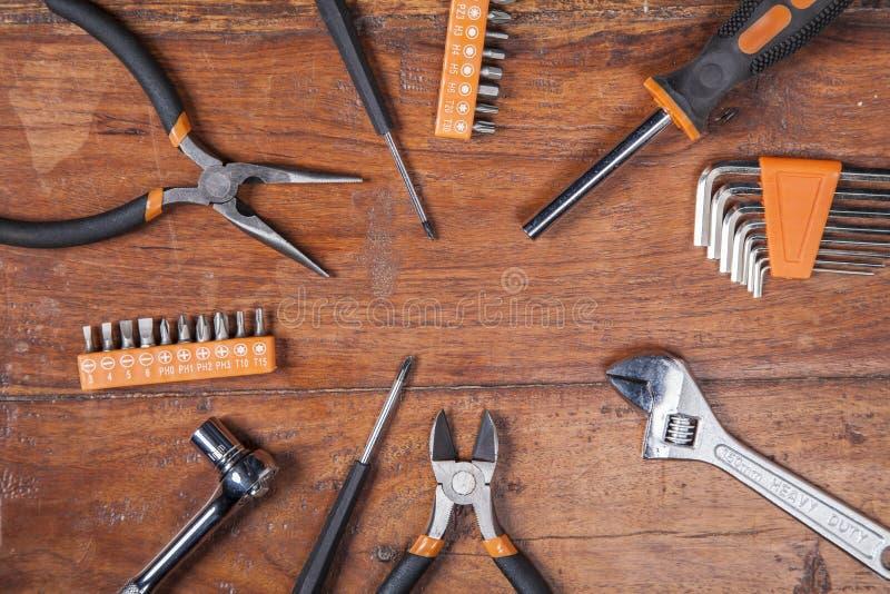 Πρέπει handyman, υπόβαθρο στοκ εικόνα
