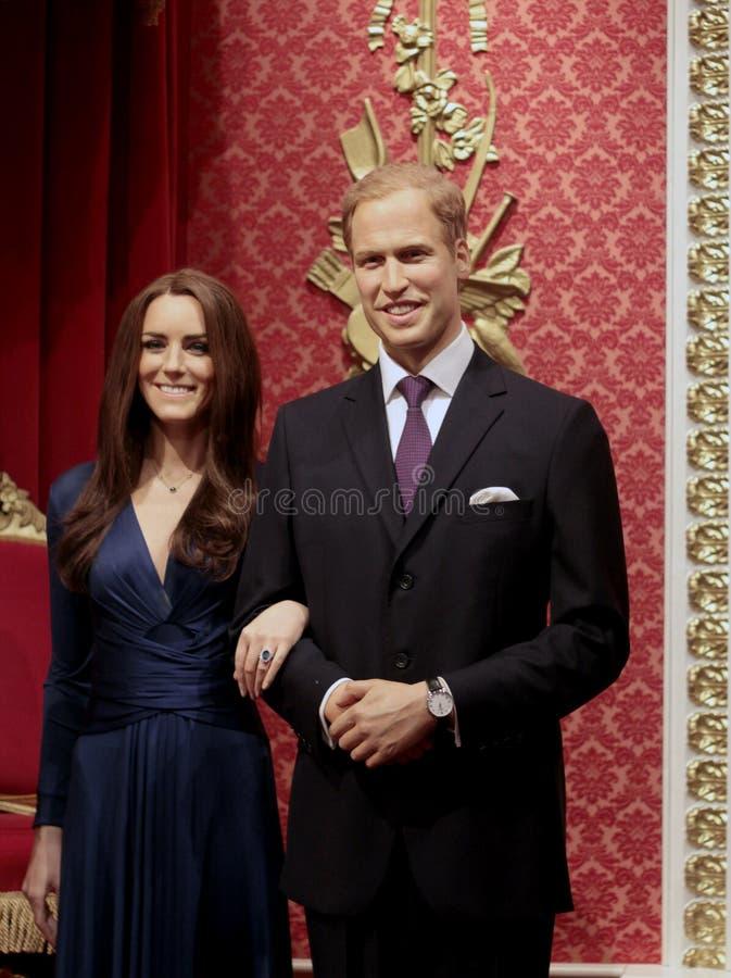 Πρίγκηπας William και Κέιτ Μίντλτον στοκ εικόνες
