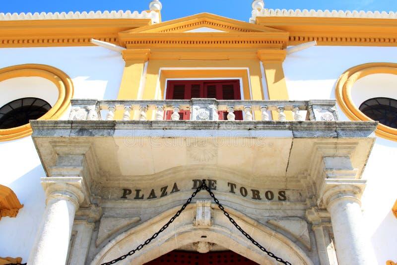 πραγματικά toros της Σεβίλης plaza  στοκ εικόνες