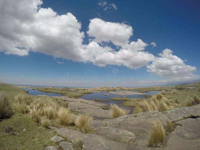 Πραγματοποιώντας οδοιπορικό το Quebrada Yatan από Cumbrecita, CÃ ³ rdoba, Αργεντινή στοκ φωτογραφίες με δικαίωμα ελεύθερης χρήσης