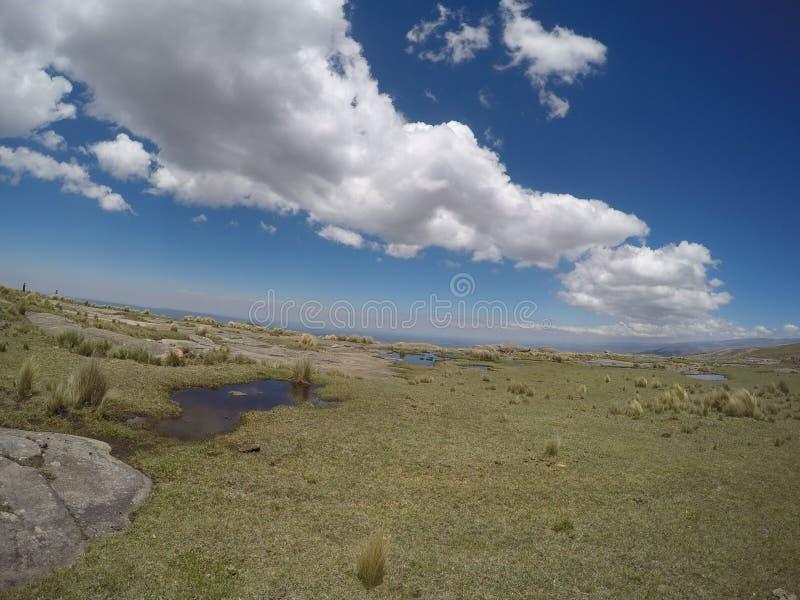 Πραγματοποιώντας οδοιπορικό το Quebrada Yatan από Cumbrecita, CÃ ³ rdoba, Αργεντινή στοκ εικόνα