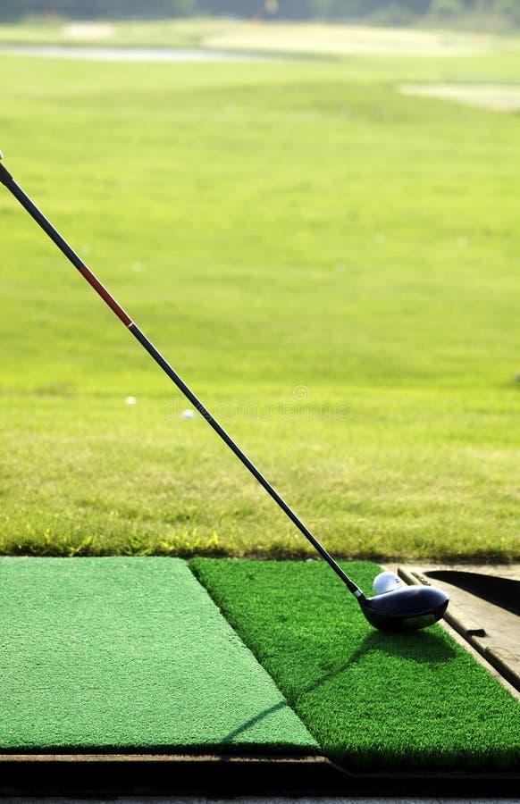 πρακτική γκολφ στοκ φωτογραφίες