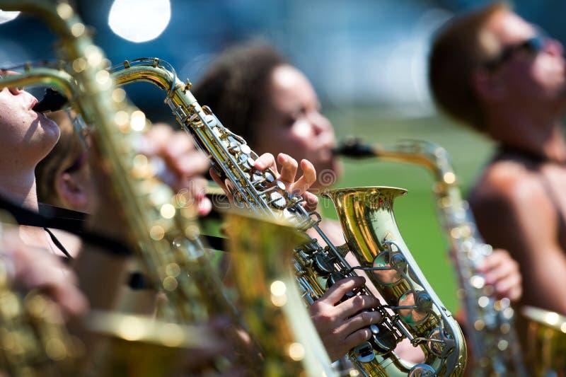 Πρακτική Saxophone στοκ εικόνες