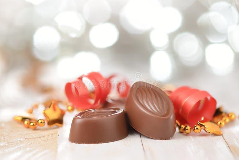 Πραλίνες σοκολάτας στοκ φωτογραφίες