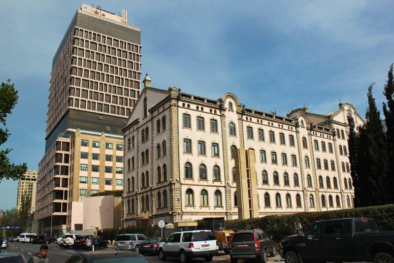 Πρεσβεία Βασίλειο στο Μπακού, Αζερμπαϊτζάν στοκ εικόνες