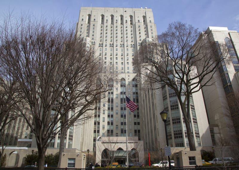Πρεσβυτεριανό Weill Cornell ιατρικό κέντρο της Νέας Υόρκης στοκ φωτογραφία με δικαίωμα ελεύθερης χρήσης