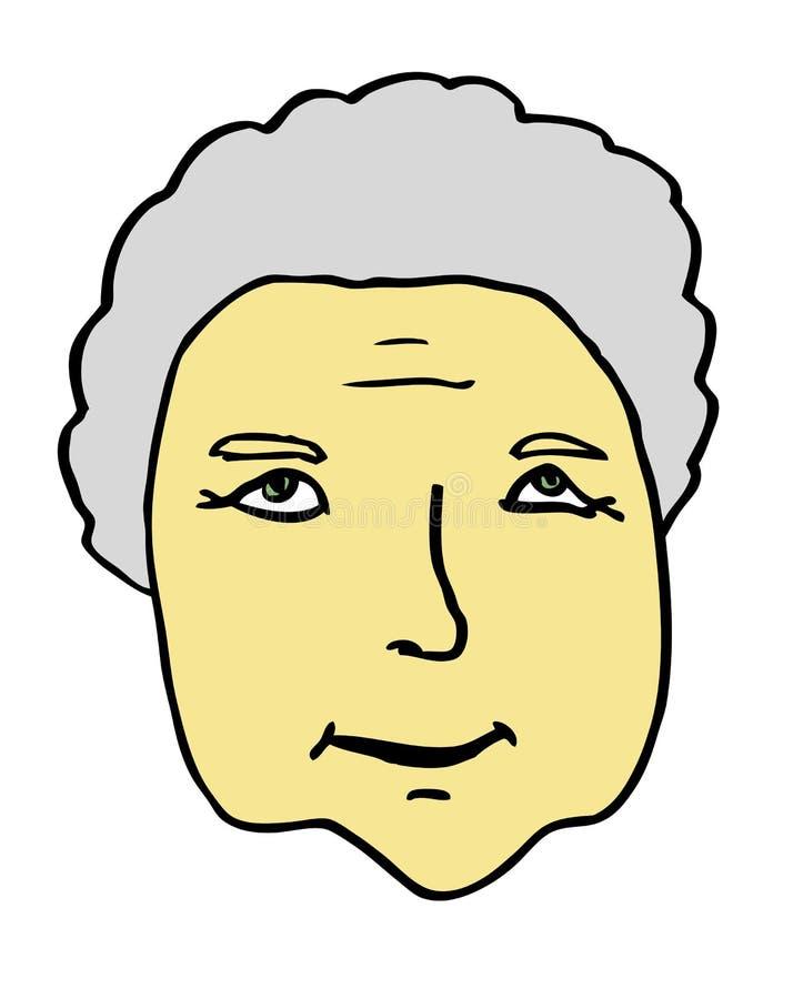 Πρεσβύτερος γιαγιάδων ελεύθερη απεικόνιση δικαιώματος