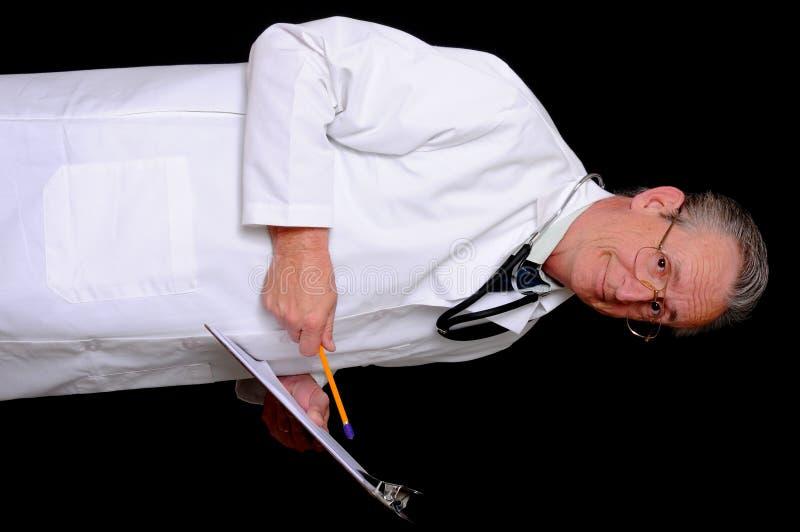πρεσβύτερος γιατρών στοκ φωτογραφίες