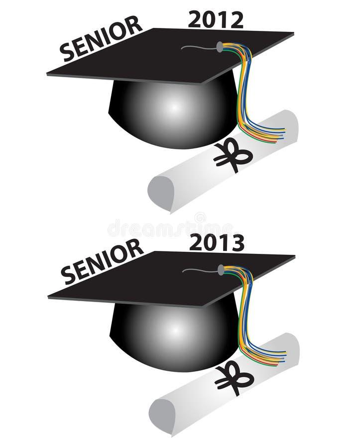 πρεσβύτερος διπλωμάτων του 2013 ΚΑΠ του 2012 ελεύθερη απεικόνιση δικαιώματος