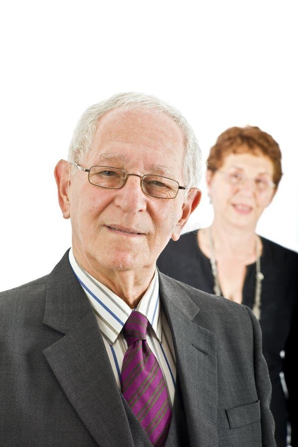 πρεσβύτερος συναδέλφων & στοκ φωτογραφία