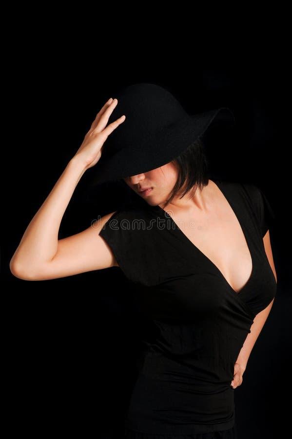 Πριγκήπισσα στο Μαύρο στοκ φωτογραφία με δικαίωμα ελεύθερης χρήσης