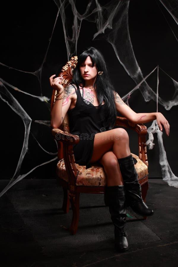 Πριγκήπισσα του σκοταδιού στοκ φωτογραφίες