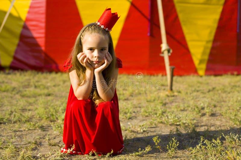 Πριγκήπισσα τσίρκων στοκ φωτογραφία με δικαίωμα ελεύθερης χρήσης