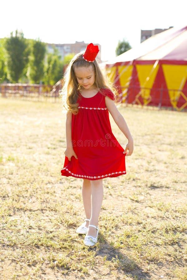 Πριγκήπισσα τσίρκων στοκ φωτογραφία