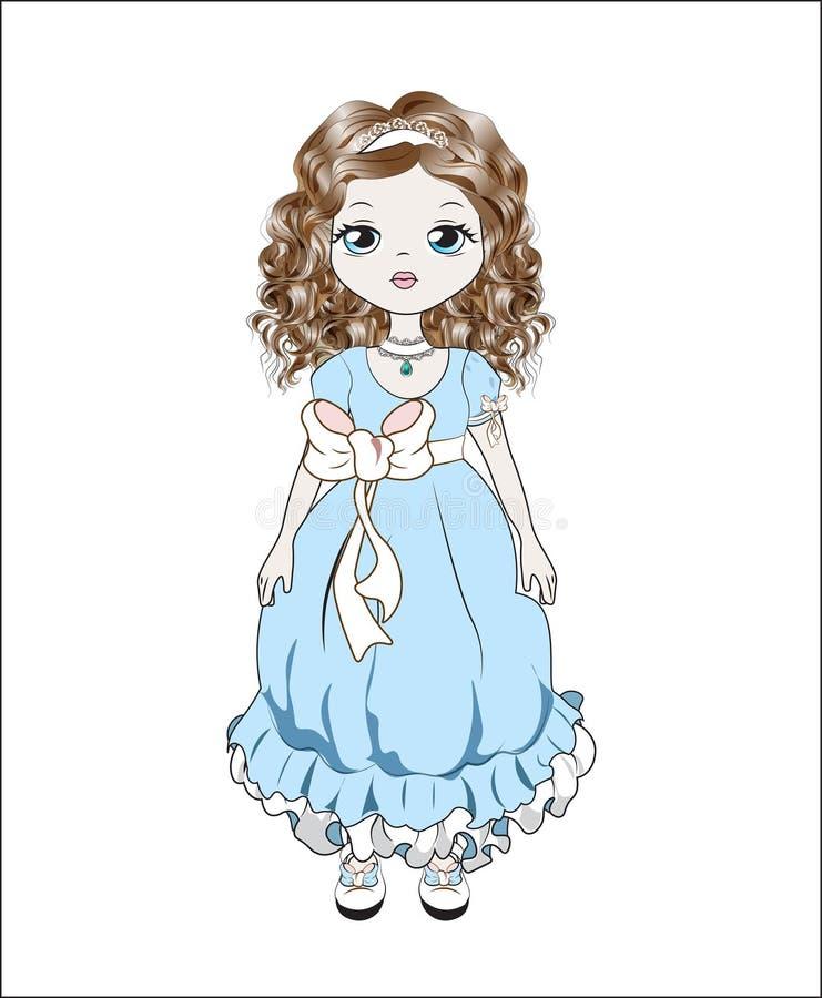 Πριγκήπισσα Littlle απεικόνιση αποθεμάτων