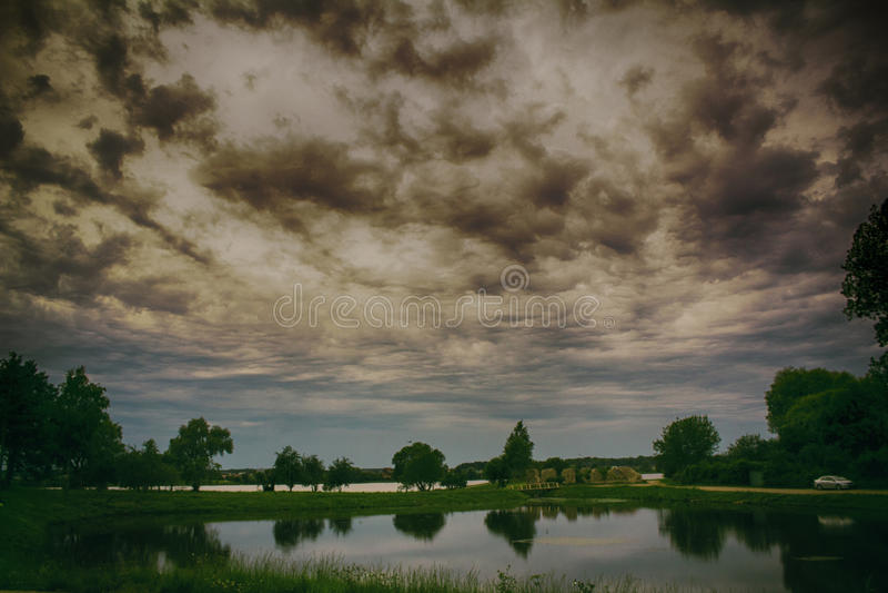 Πριν από τη θύελλα στοκ φωτογραφία με δικαίωμα ελεύθερης χρήσης